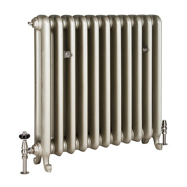 The Duchess 2 Column 790mm Cast Iron Radiator | Castrads