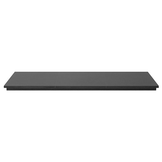 Honed Black Granite Hearth 4 Piece | Carron