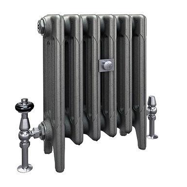 The Mercury 4 Column 460mm Cast Iron Radiator | Castrads