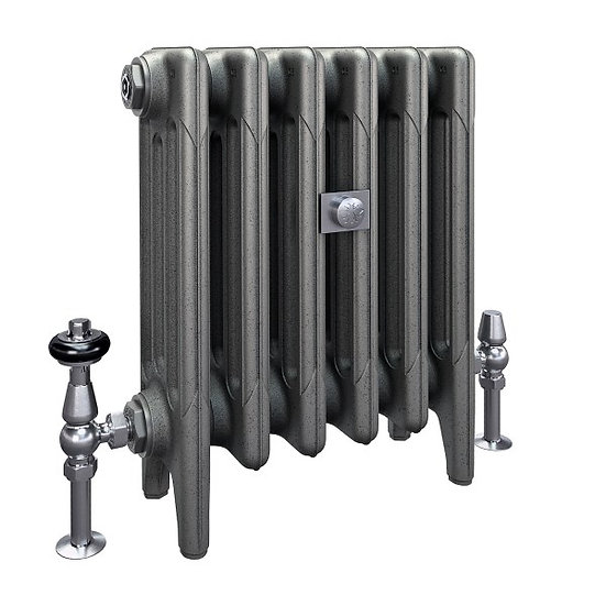 The Mercury 4 Column 460mm Cast Iron Radiator | Castrads