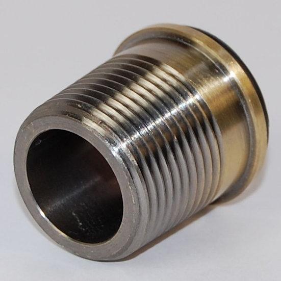 ¾ inch Rad Coupler Adaptor Antique Brass