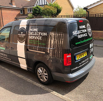 Home selection van