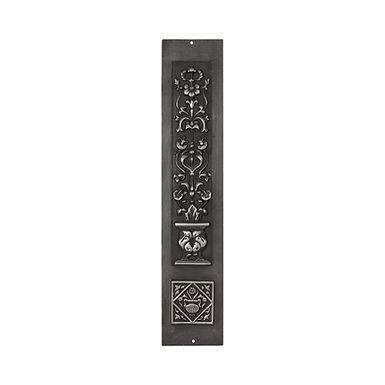 Set of 2 Flower Cast Iron Panels - Highlight Polish | Carron