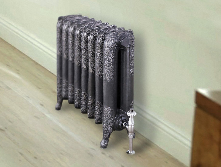 The Rococo 2 Column Carron Cast Iron Radiator