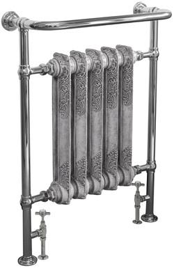 Wilsford Steel Towel Rail in Chrome | Carron