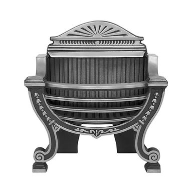 Balmoral Cast Iron Fire Basket | Highlight Polish | Carron