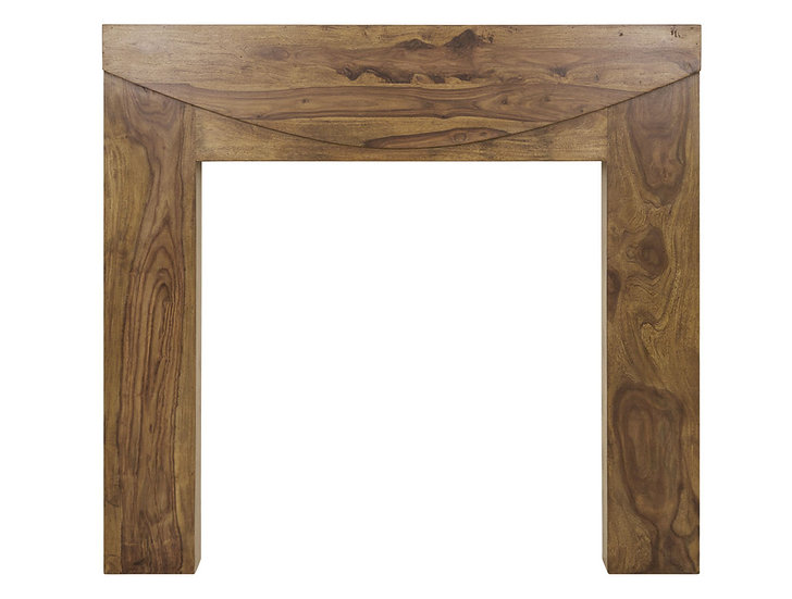New Hampshire Wooden Fireplace Surround   Carron