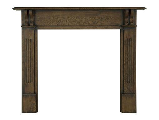 Earlswood Oak Wooden Fireplace Surround | Carron