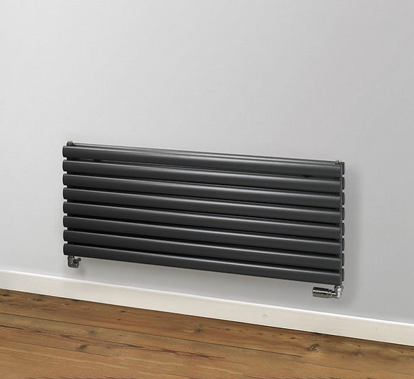 Finsbury Horizontal Steel Radiator | Single | Foundry