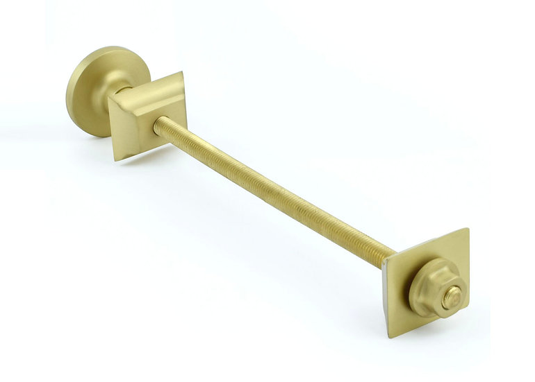 Brushed Brass Wall Stay | West