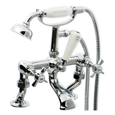 Covent Cranked Bath Shower Mixer Tap