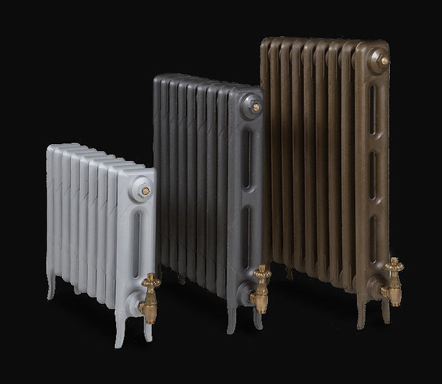 Paladin The Pimlico Cast Iron Radiator heights