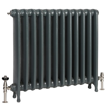 The Eton 740mm Cast Iron Radiator | Castrads
