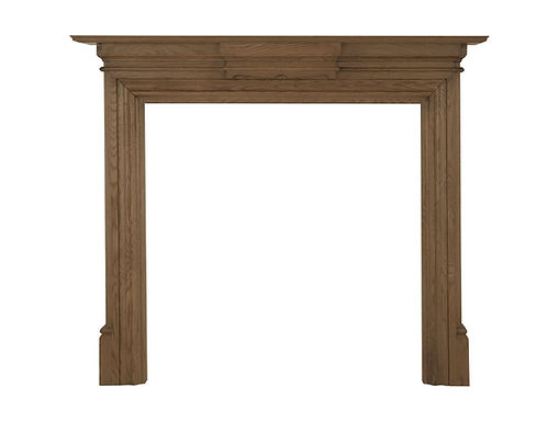 Grand Wooden Fireplace Surround | Carron