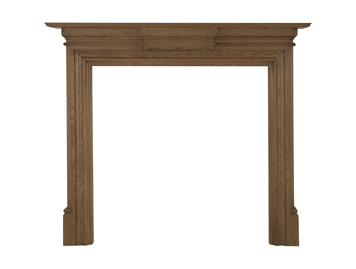 Grand Wooden Fireplace Surround   Carron