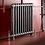 Rustic Polish Edwardian 2 Column Cast Iron Radiator