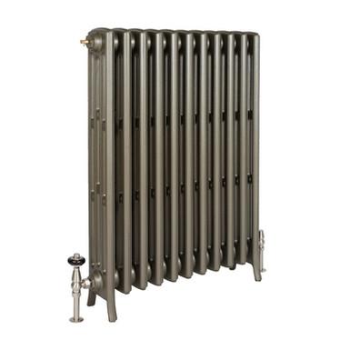 The Grace 4 Column 960mm Cast Iron Radiator | Castrads