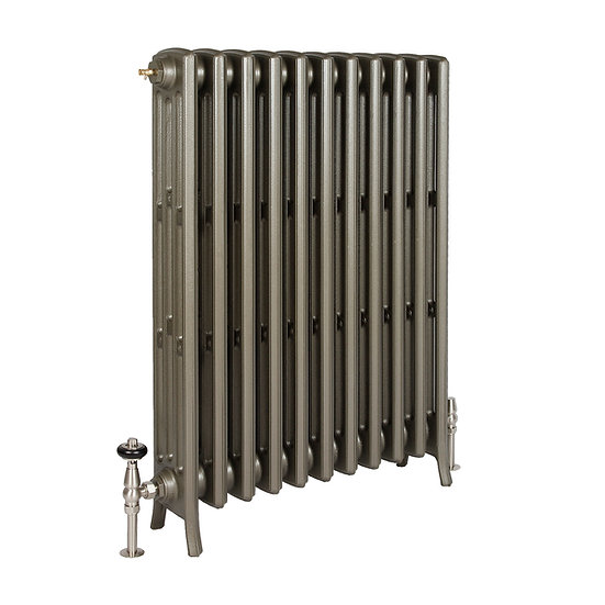 The Grace 4 Column 960mm Cast Iron Radiator | Castrads