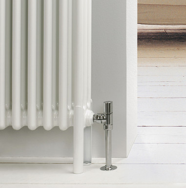 Slip-On Column Radiator Foot | Foundry