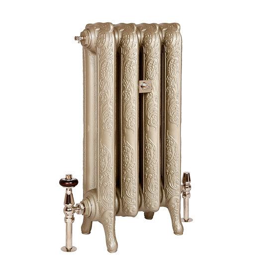 The Rococo 2 Column 660mm Cast Iron Radiator | Castrads