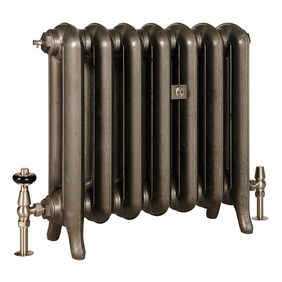 The Princess 2 Column 550mm Cast Iron Radiator | Castrads