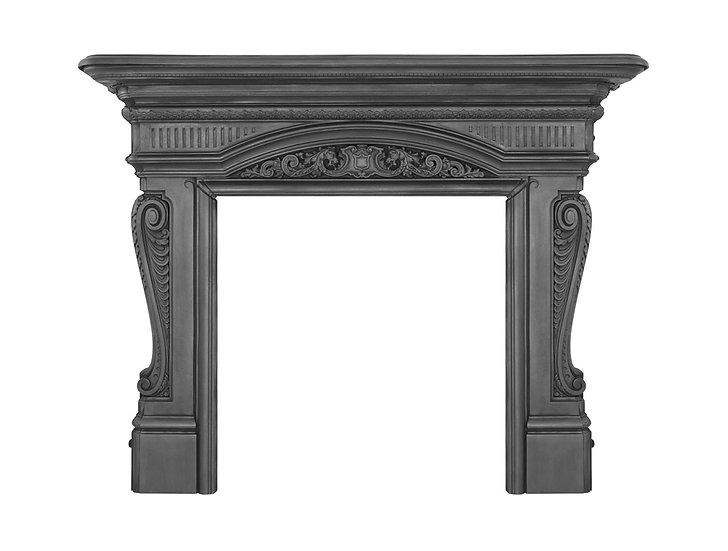 Buckingham Cast Iron Fireplace Surround black | Carron