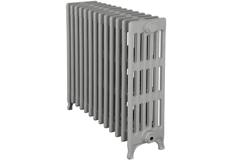 The Victorian 740mm, 6 Column, 13 Sections | Silk Grey | Carron
