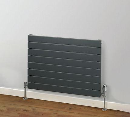 Primrose Horizontal Steel Radiator | Single | Foundry