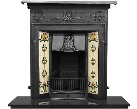 Morris Cast Iron Combination Fireplace   Carron