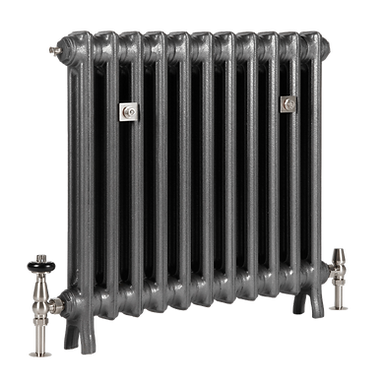 The Grace 2 Column 640mm Cast Iron Radiator | Castrads