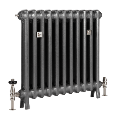 The Grace 2 Column 640mm Cast Iron Radiator | Castrads