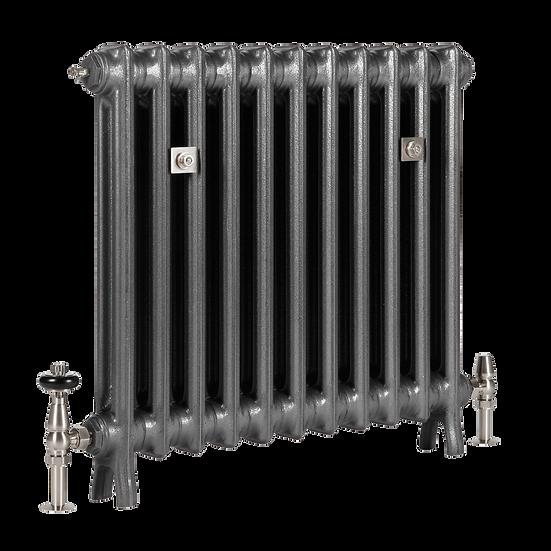 The Grace 2 Column 640mm Cast Iron Radiator   Castrads