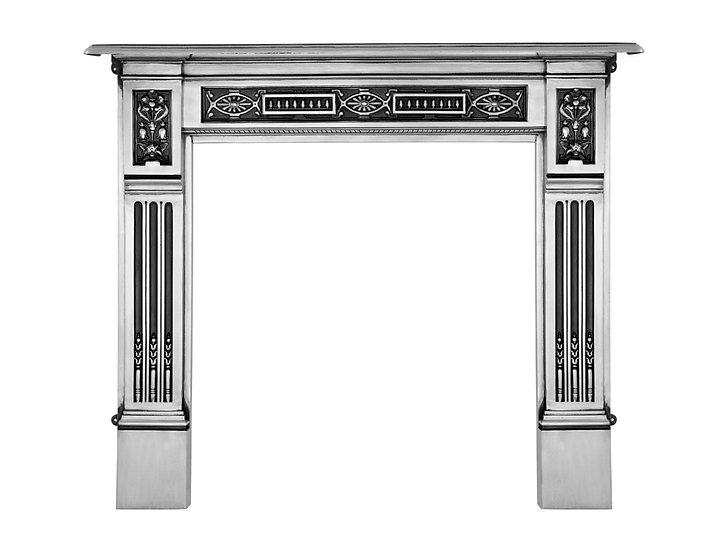 Albert Cast Iron Fireplace Surround polished | Carron
