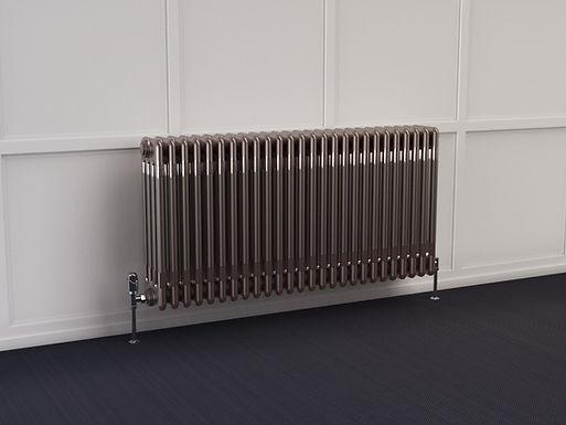Multisec Steel 4 Column Stocked Radiator   Raw   Foundry