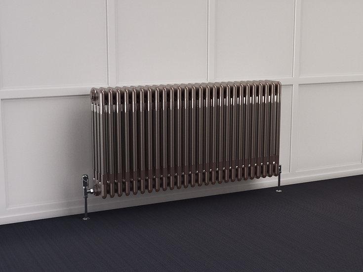 Multisec Steel 4 Column Radiator | Raw | Foundry