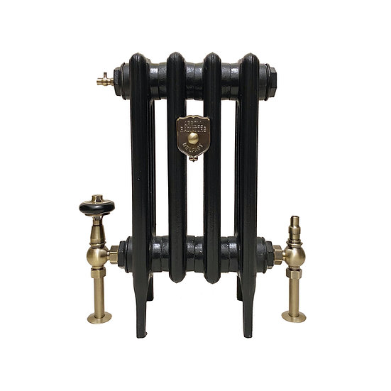Arundel UK28 Thermostatic Valve Radiator Pack Antique brass