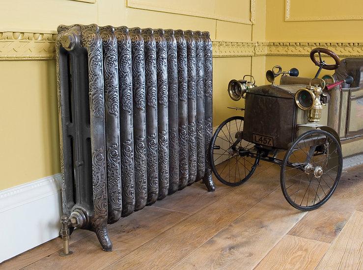 Carron Rococo 3 Column Cast Iron Radiator | Foundry Cast Iron Radiators & Baths