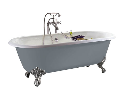 Baby Buckingham Cast Iron Bath   Heritage