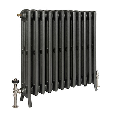 The Grace 4 Column 760mm Cast Iron Radiator   Castrads
