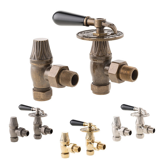 Arroll UK14 Traditional Throttle Manual Valve Set Angled Collection