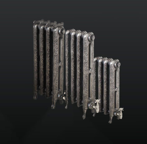 Paladin The Kensington Cast Iron Radiator Range in 3 heights
