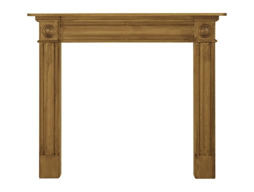 Derry Wooden Fireplace Surround   Carron