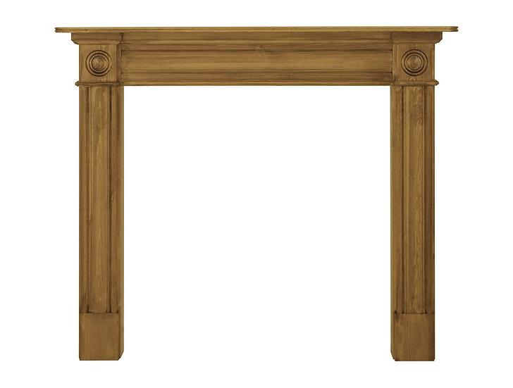Derry Wooden Fireplace Surround pine | Carron