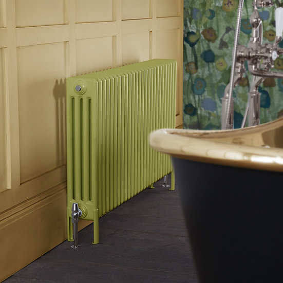 Carron Enderby 4 Column Steel Radiator setting | Foundry Cast Iron Radiators and Baths
