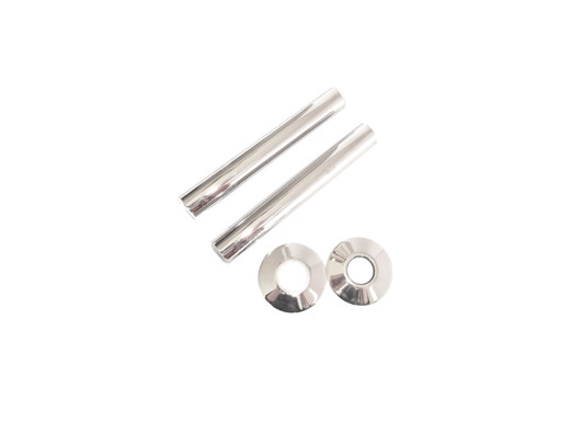 130mm Polished Nickel Pipe Shroud | Arroll