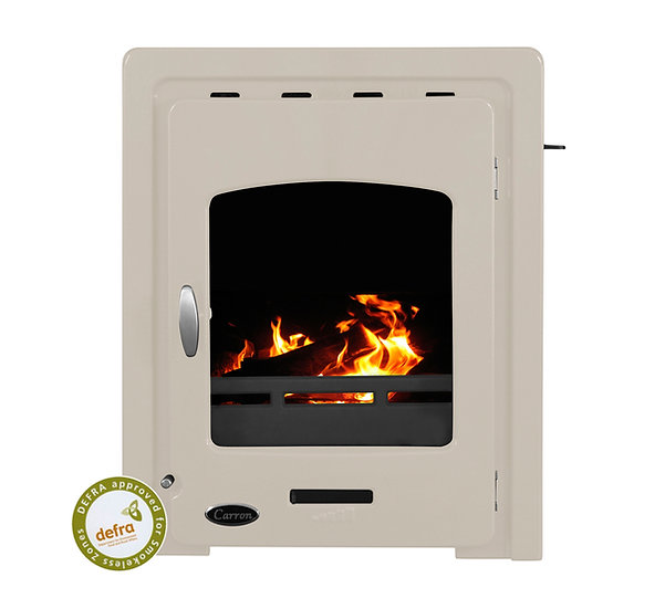 Carron Darwin Inset 4.7kW Cast Iron Stove Cream