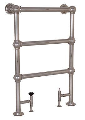 Colossus Steel 3 Bar Towel Rail - 650mm x 1000mm   Carron