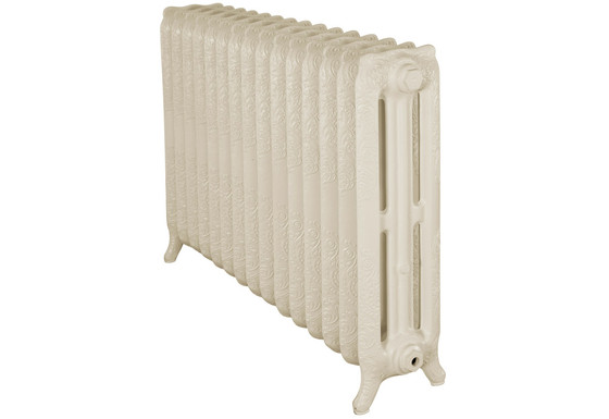 Rococo 810mm, 3 Column, 15 Sections | Buttermilk | Carron