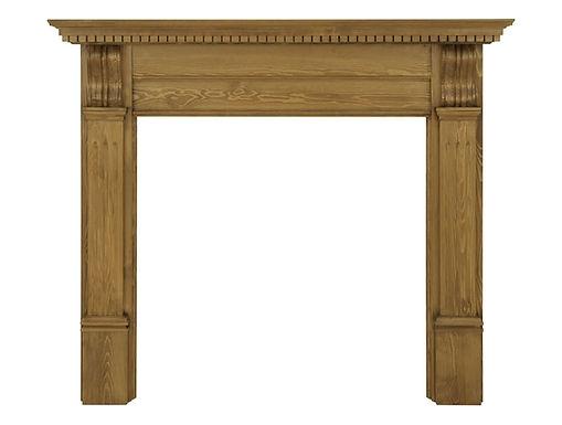Corbel Wooden Fireplace Surround | Carron