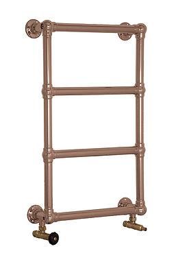 Bassingham Steel 4 Bar Wall Mounted Towel Rail in Copper | Carron